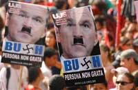 Repulsa de los brasileños por visita de Bush